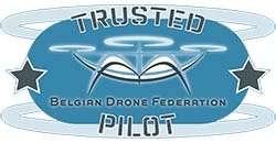 250 Logo Belgian Drone Trusted Pilotkopie