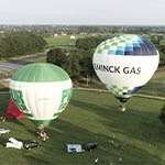 Dronefotos luchtballonnen