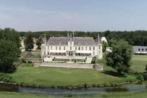 drone fotografie Augerville La Rivière golf