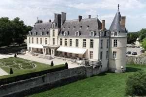 drone fotografie Augerville La Rivière kasteel