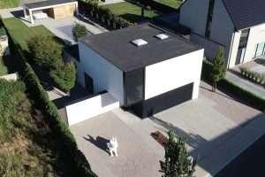 vastgoedfotografie drone foto nieuwbouw